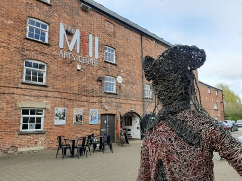 Exterior of The Mill Arts Centre