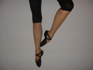 Ballet dancer's legs and feet
